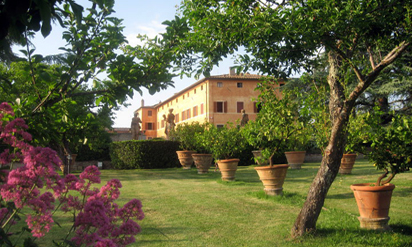 Exclusive villa rental in Tuscany :: Villa Catignano