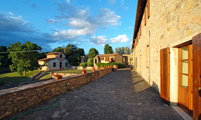 Tuscany country villa close to Siena :: Villa Catignano